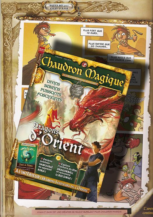 Page 28 du Chaudron Magique N°1 Chaudron_Magique_1